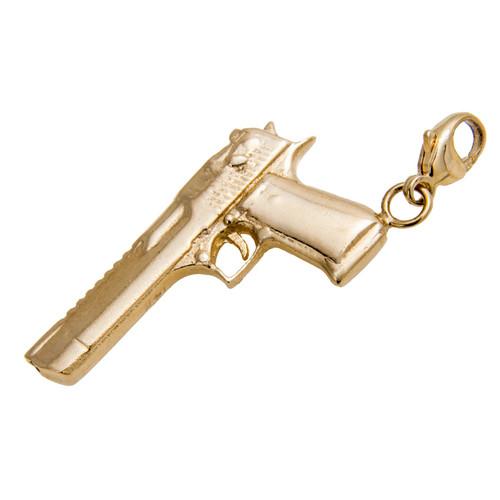 Desert Eagle Pistol Charm
