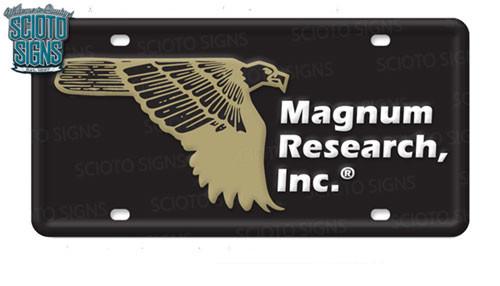 Magnum Research License Plate