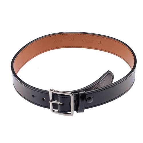 Gould & Goodrich Black Leather Belt