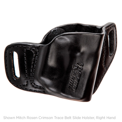 Mitch Rosen Belt Slide Holster, P9 with Crimson Trace