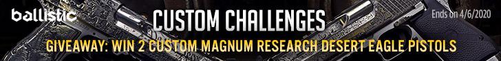 Ballistic Custom Challenges - Custom Desert Eagle Giveaway!