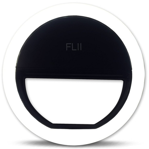 Black  FLII Selfie Ring Light ( Rechargeable)