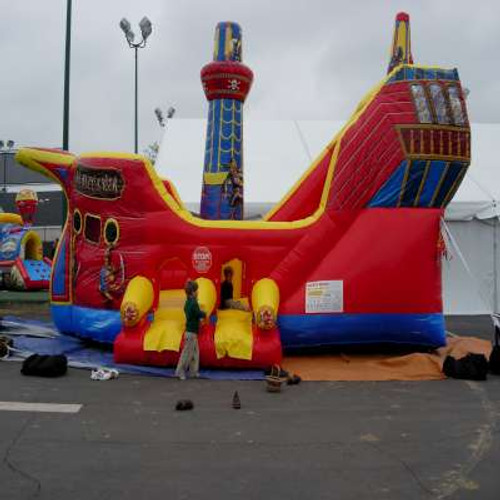 SS Buccaneer Pirate Ship Obstacle Course/Slide Rental