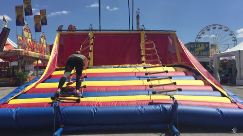 ladder climb inflatable game, inflatable game rental oklahoma, inflatable game rentals tulsa, tulsa game rentals, bounce house rental tulsa