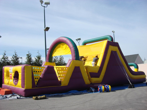 inflatable obstacle course rental tulsa