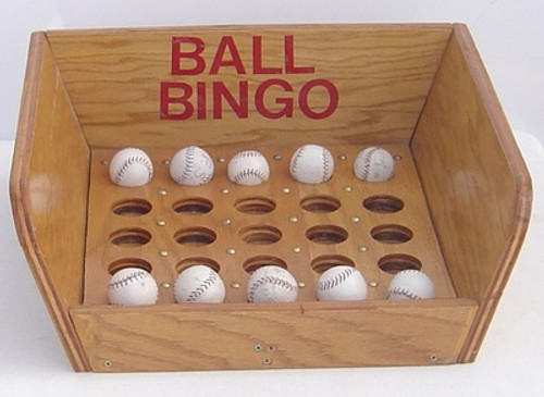 ball bingo carnival game