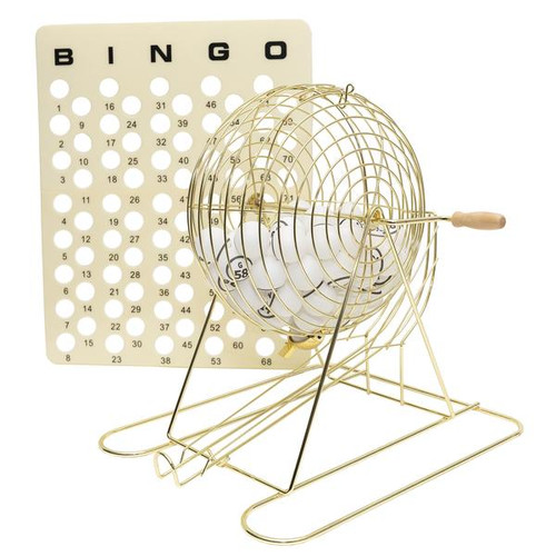 Purchase Bingo Cage with Master Board and Balls