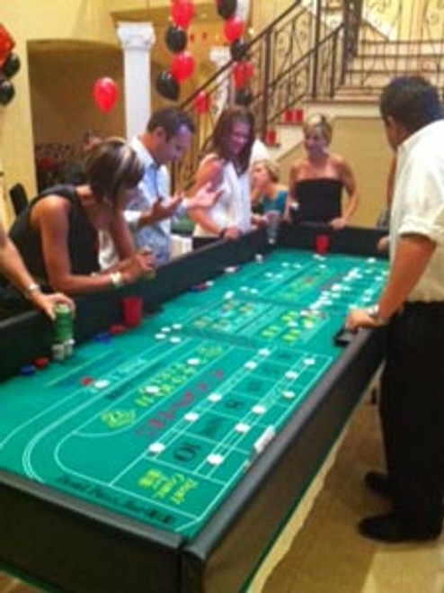 Craps Table Deluxe Rental