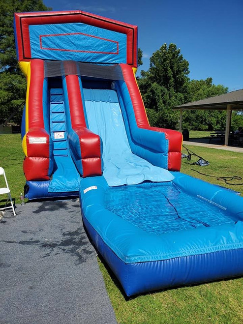 Inflatable Super Water Slide Rental