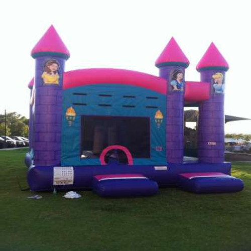 Princess Bounce House Castle Inflatable Combo Rental