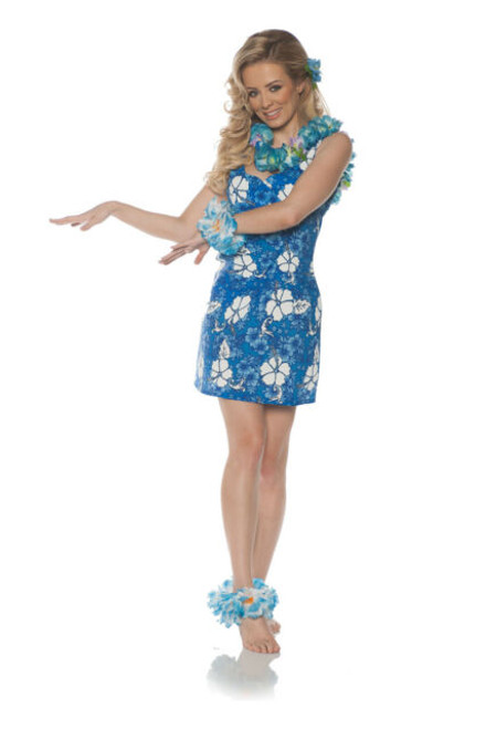 Blue Hawaii Dress