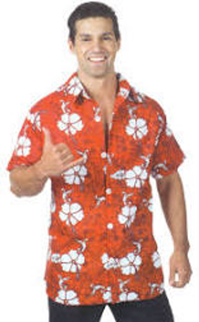 Red Hawaiian Shirt