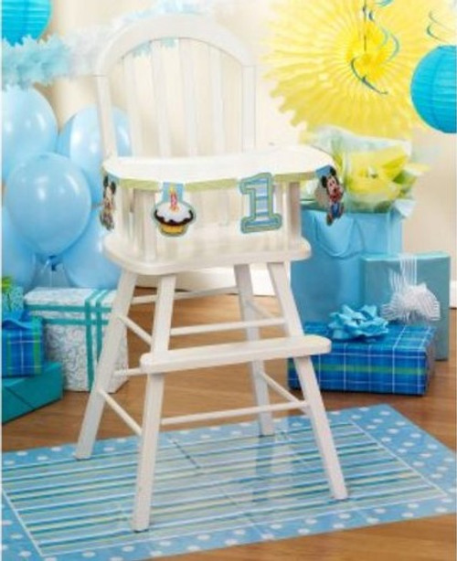 Mickey High Chair Decorating Kit