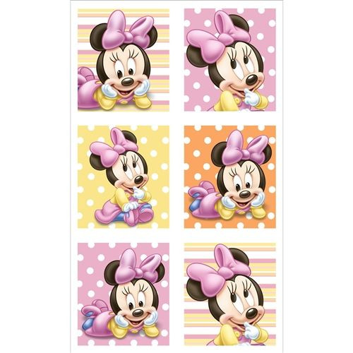 Minnie 1st Birthday Stickers
