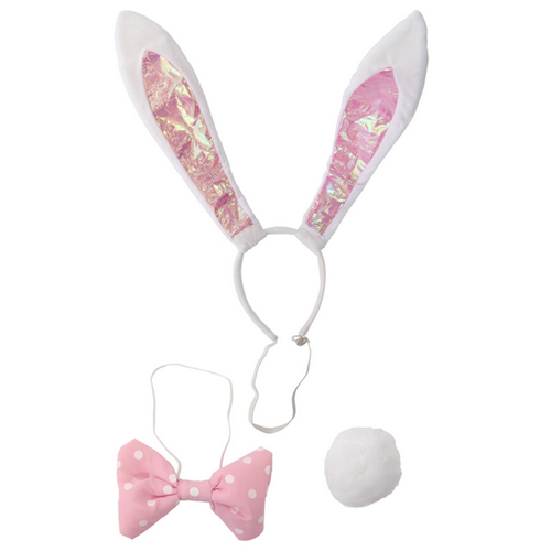 bunny ears, bunny tail, rabbit ears, easter bunny costume, tulsa costume store