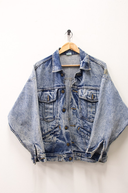 PALEMETTOS VINTAGE DENIM JACKET
