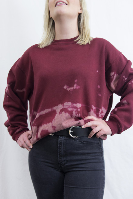 GET BLEACHED SWEATER 08