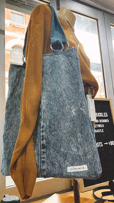 LEVI DENIM TOTE / ACID WASH