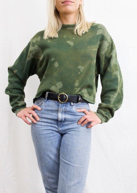 CROPPED GET BLEACHED SWEATER 04