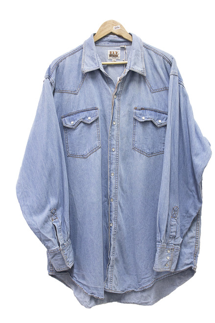 ELY CATTLEMEN DENIM SHIRT