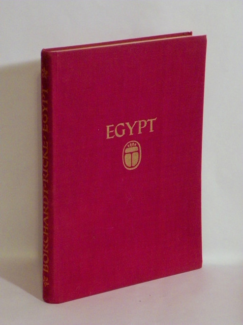Egypt : Architecture, Landscape, Life of the People (ca 1929) L. Borchardt, H. Ricke VINTAGE