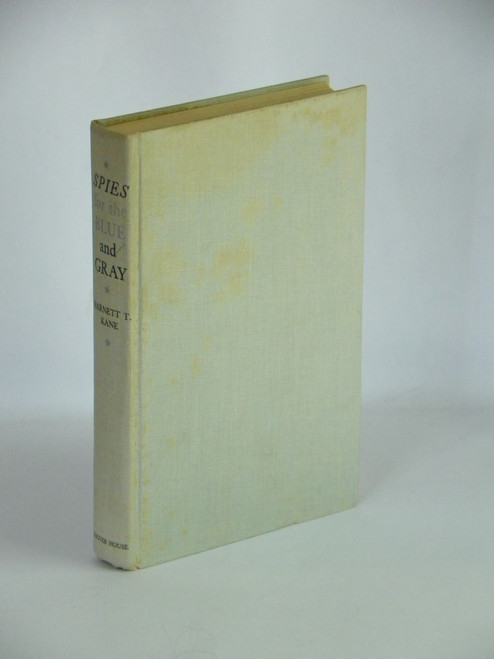 Spies for the Blue and Gray 1954 FIRST SIGNED Harnett Kane CIVIL WAR Southern Edition