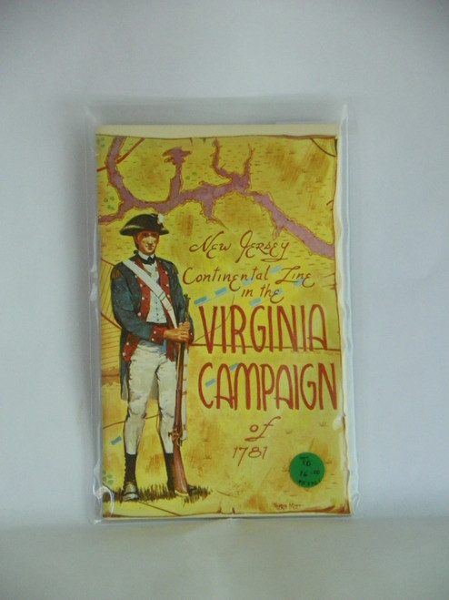 New Jersey Continental Line in the Virginia Campaign of 1781 (1970 REPRINT) Stryker