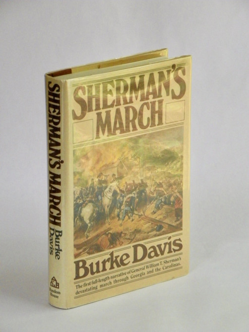Sherman's March (1980 HC) SIGNED by Burke Davis CIVIL WAR