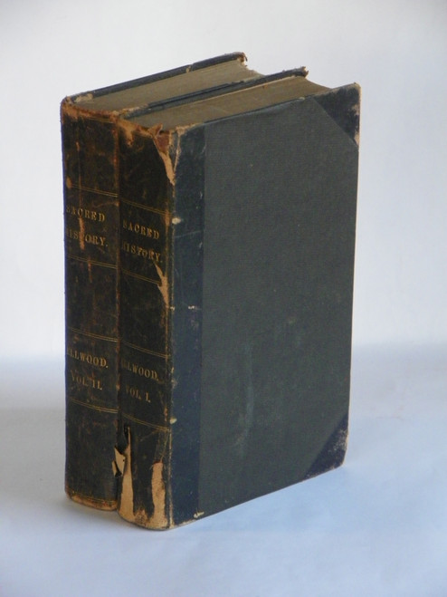 Sacred History : or the Historical Part of the Holy Scriptures... 2 vols 1854 Thomas Ellwood