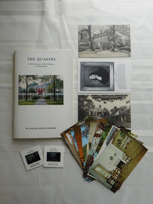 The Quakers: A Brief Account of Their Influence on Pennsylvania - with postcards