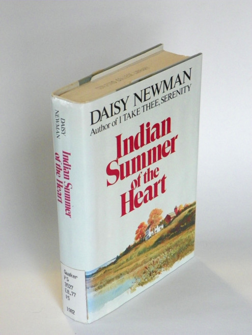 Indian Summer of the Heart (sequel to I Take Thee, Serenity) SIGNED - FAIR