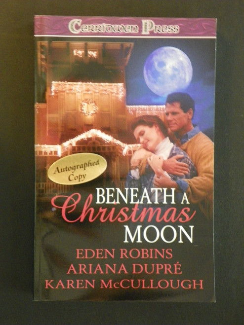 Beneath a Christmas Moon - SIGNED Karen McCullough (paranormal romance)