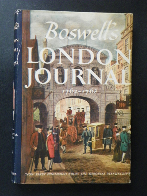 Boswell's London Journal, 1762-1763 (1950 BCE) VINTAGE James Boswell