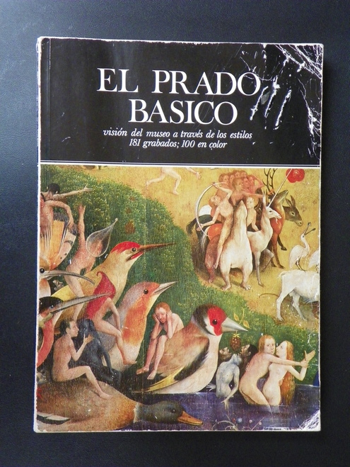 El Prado Basico (1975 PB) SPANISH Prado Museum paintings by J. Rogelio Buendia