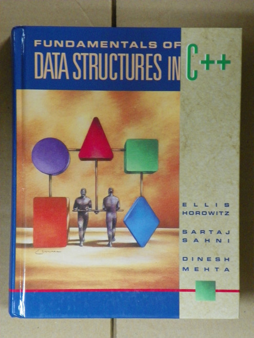 Fundamentals of Data Structures in C++ (1997 HC)