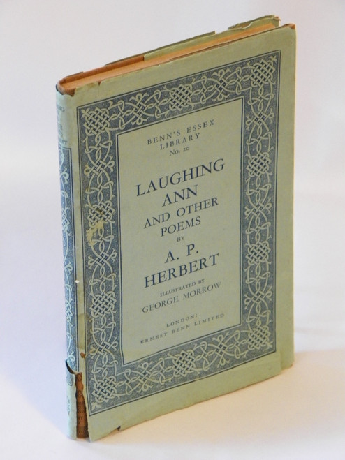 Laughing Ann and Other Poems VINTAGE 1929 HC A.P. Herbert, George Morrow