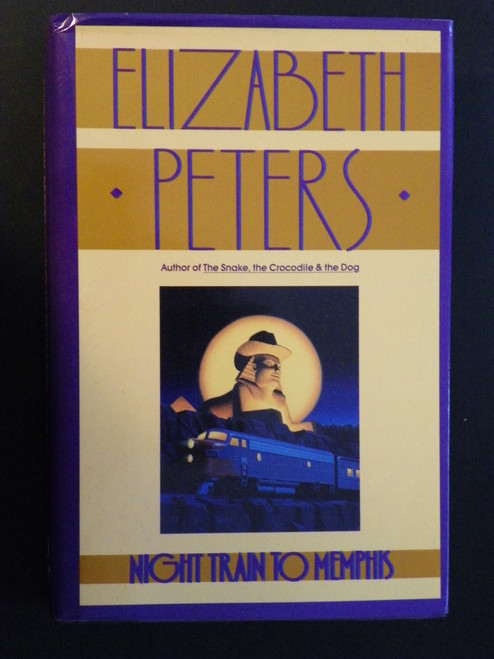 Night Train to Memphis (Vicky Bliss) - 1994 FIRST HC by Elizabeth Peters