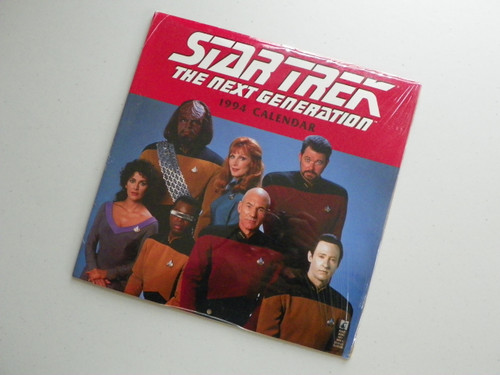 Star Trek The Next Generation 1994 Calendar