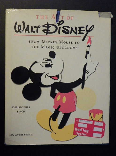 The Art Of Walt Disney : From Mickey Mouse to the Magic Kingdoms 1988 FINCH
