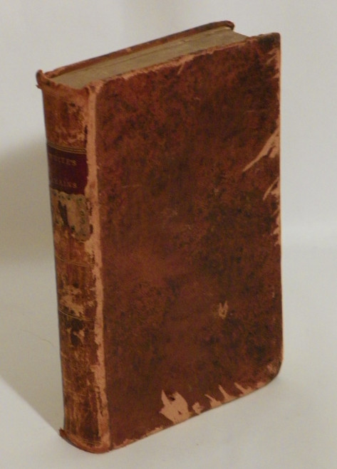 The Remains of Henry Kirk White, of Nottingham, Vol. I (1811 ANTIQUE LEATHER)