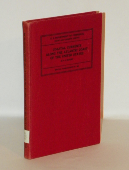 Coastal Currents Along the Atlantic Coast of the United States 1942 HC CHARTS VINTAGE
