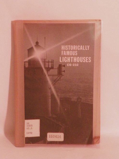 Historically Famous Lighthouses 1972 GPO pamphlet