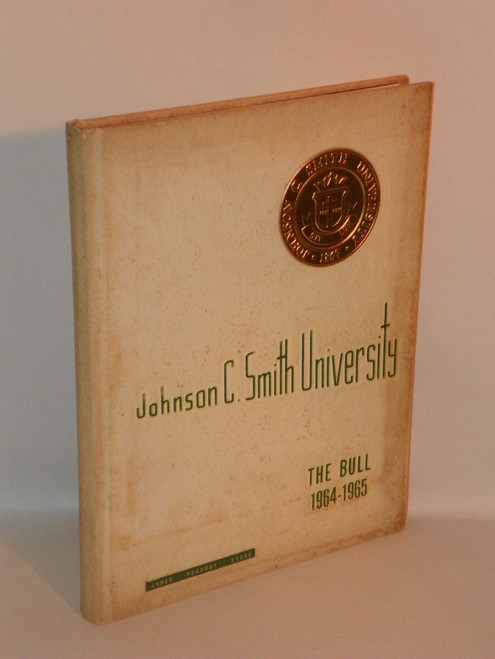 The Bull 1964-1965 Johnson C. Smith University yearbook EVANS FAMILY CHARLOTTE NC