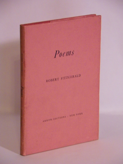 Poems - 1935 FIRST by Robert Fitzgerald