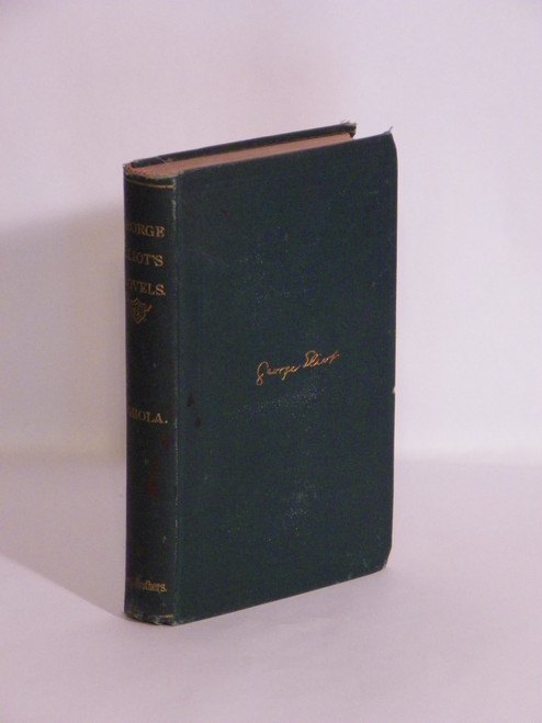 Novels of George Eliot. Vol. V. Romola. With Illustrations.