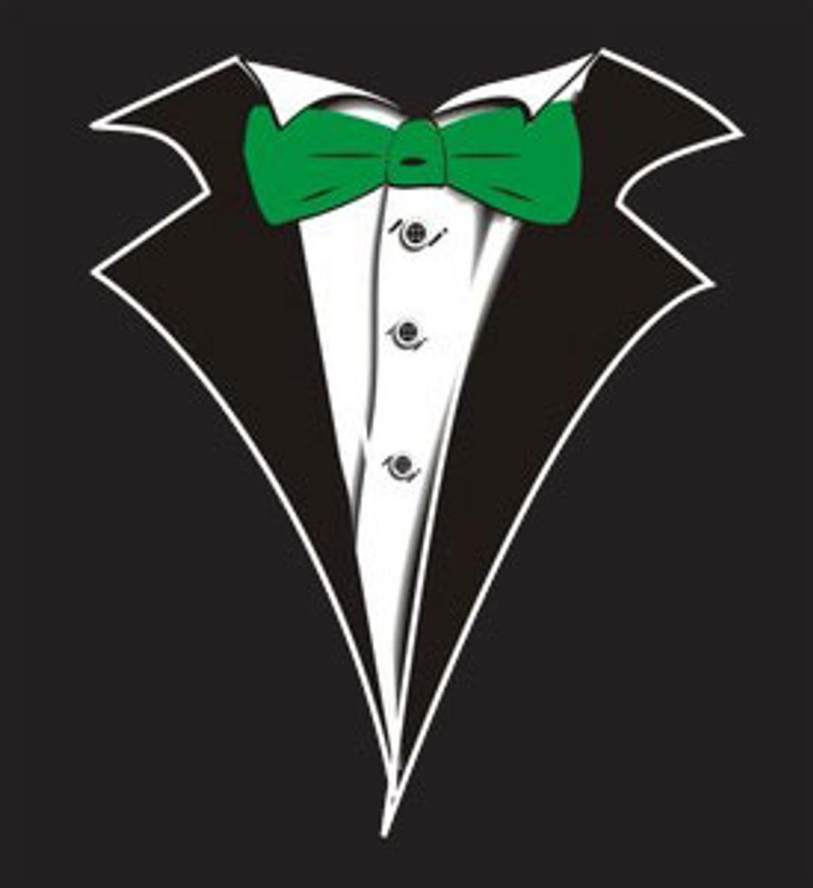 White Tuxedo Matching Pants Shirt In Desc Roblox - Kids Tuxedo T Shirt In Black With Green Tie No Carnation