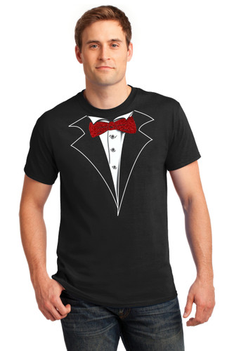 79e853a2 Men's Tuxedo T-Shirts | Shop Tuxedo Tees for Men