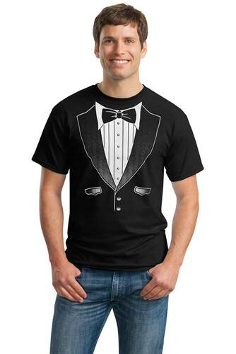 fd634ef9cd94 Men's Tuxedo T-Shirts | Shop Tuxedo Tees for Men