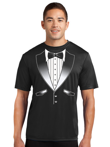 ff78a15fae4 Performance Original Tuxedo T-Shirt - Loose Athletic Dry Fit Material