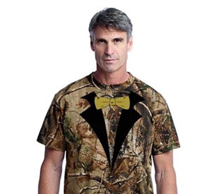 new photos luxury fashion exclusive range **On Sale**Tuxedo T-shirt Realtree® Camo(Stock on Hand)